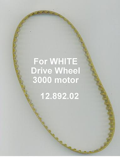 Small Toothed Belt for White Drive Wheel 3000A Motor