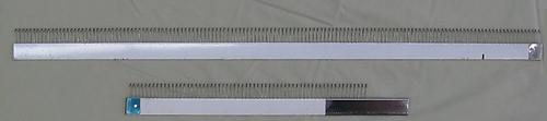 Three Piece 4.5 mm Cast On Comb Brother Type