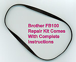 Brother FB100 Repair Kit with instructions