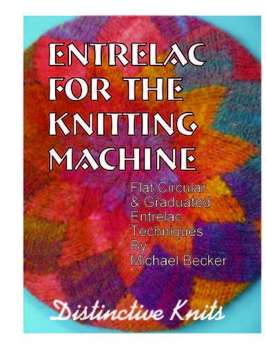 Entrelac for the knitting machine