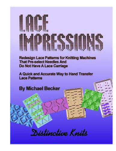 Lace Impressions for Passap and Brother Bulky