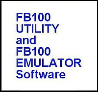 FB100 Utility and FB100 Emulator for use with BL7-USB